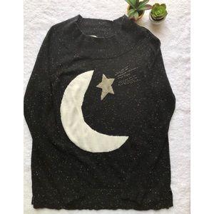 LOFT Moon & Shooting Star Sweater